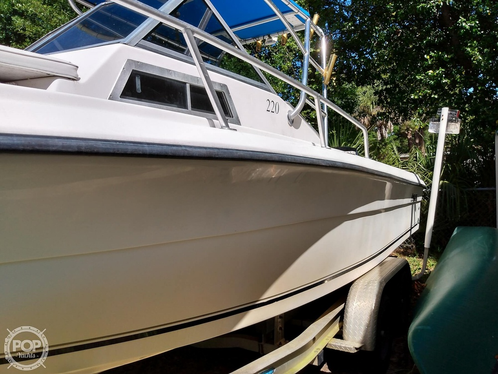 2000 American Angler boat for sale, model of the boat is 220 & Image # 6 of 41