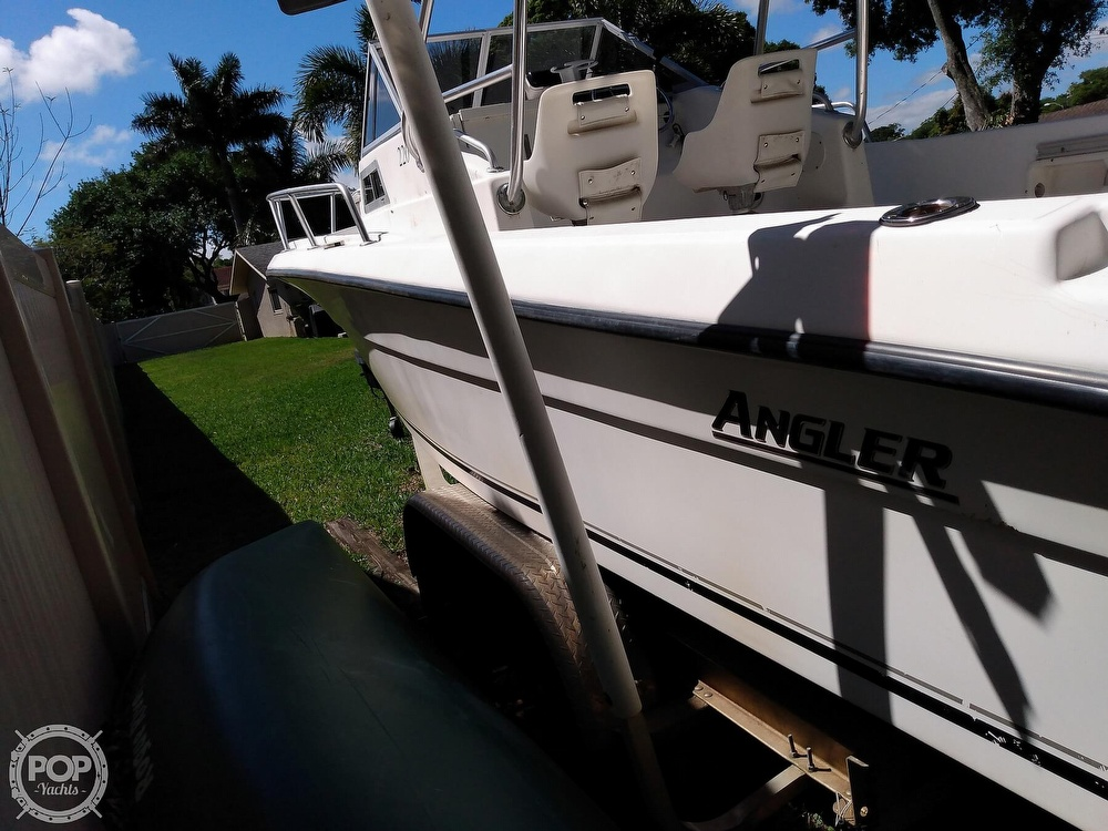 2000 American Angler boat for sale, model of the boat is 220 & Image # 5 of 41