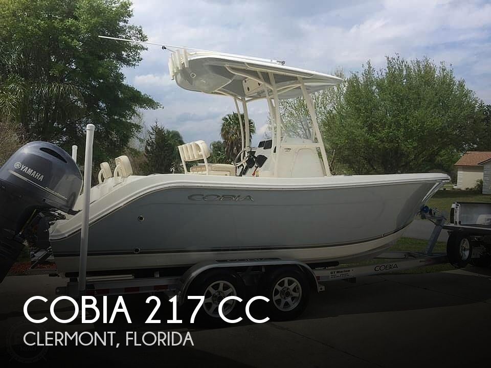 Used Cobia Boats For Sale by owner | 2016 Cobia 217 CC