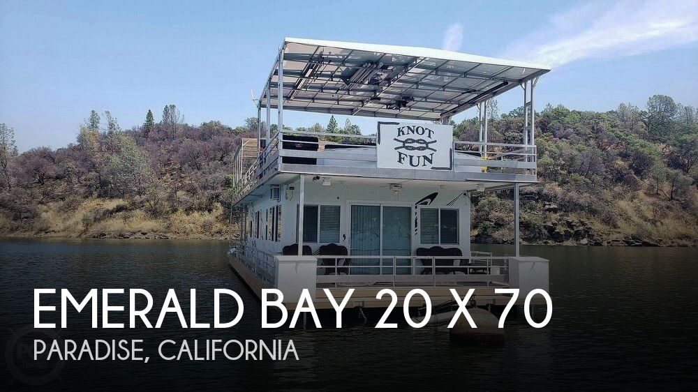 Used Houseboats For Sale by owner | 2005 Emerald Bay 70