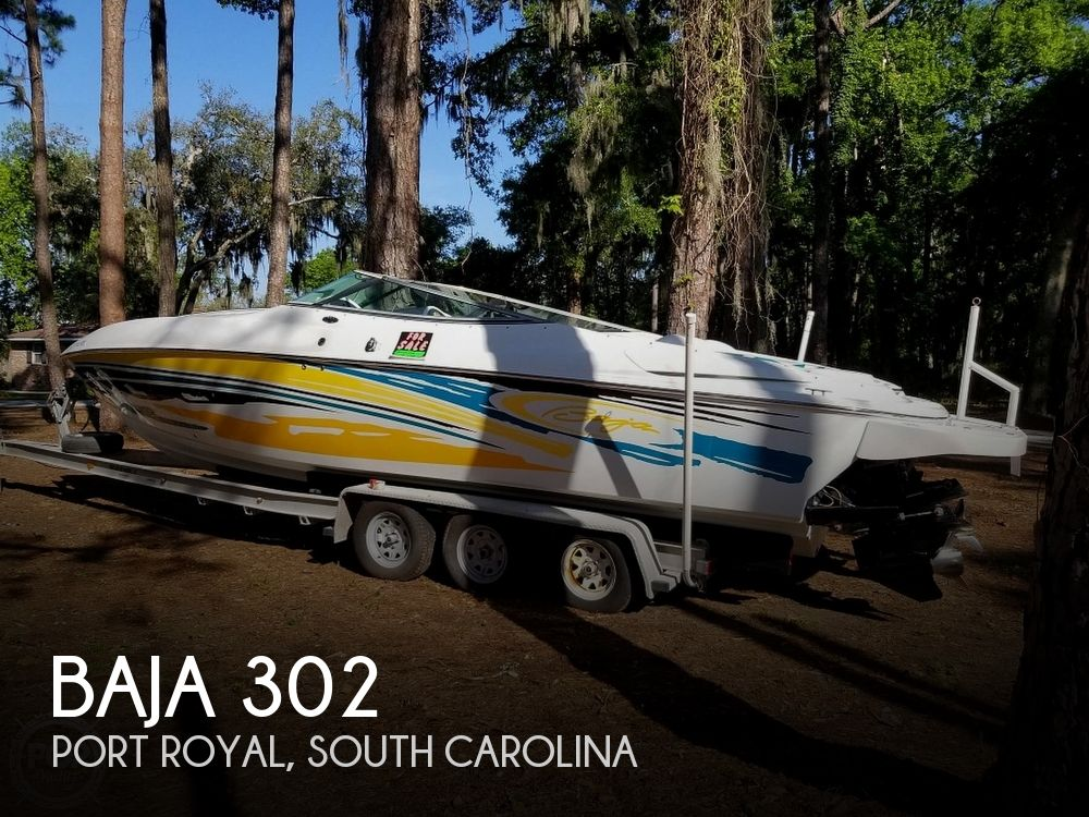 2004 Baja boat for sale, model of the boat is 302 & Image # 1 of 40