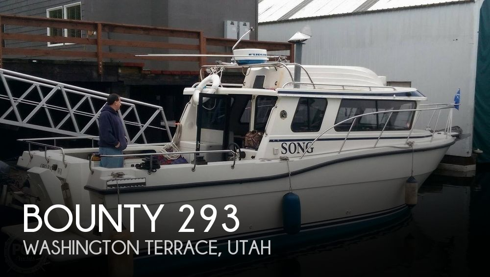 Used Boats For Sale in Salt Lake City, Utah by owner | 1998 Bounty 293