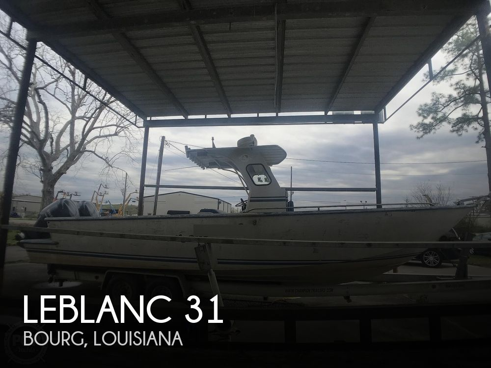 Used Fishing boats For Sale in Louisiana by owner | 2001 Leblanc Boat Works 31
