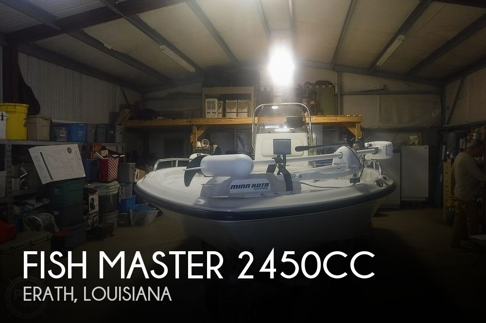 Used Fish Master Boats For Sale by owner | 2004 Fish Master 2450CC