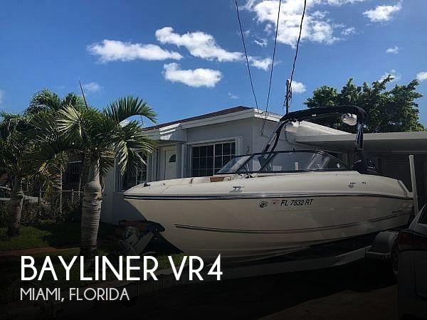 Used Bayliner Boats For Sale in Florida by owner | 2019 Bayliner VR4