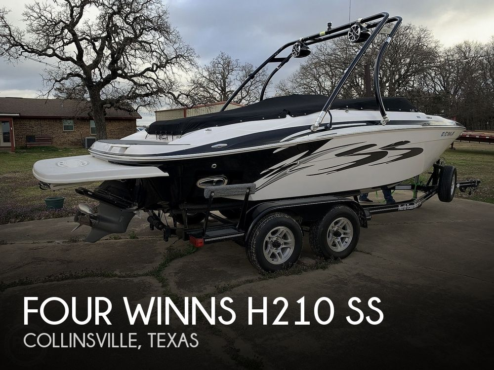 2009 Four Winns boat for sale, model of the boat is H210 SS & Image # 1 of 40