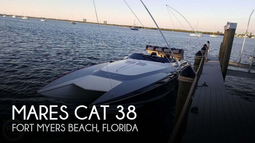 1998 Mares boat for sale, model of the boat is Cat 38 & Image # 1 of 41