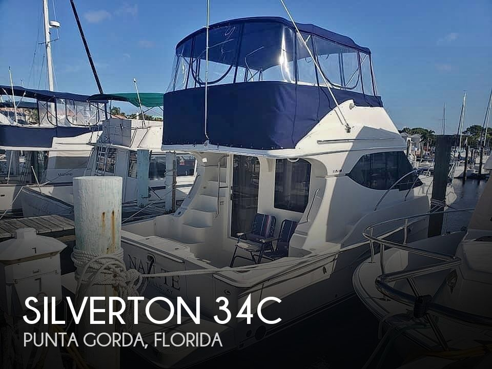 Used Silverton Fishing boats For Sale by owner | 2006 Silverton 34c
