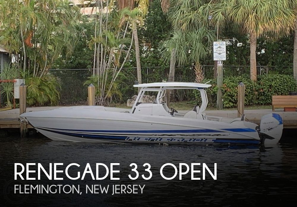 Used Boats For Sale by owner | 2019 Renegade 33 Open