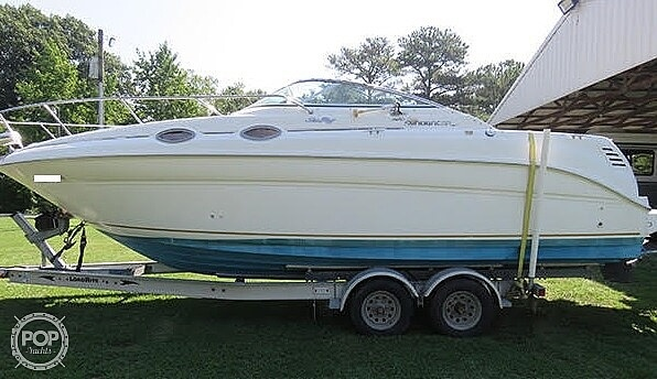 2000 Sea Ray boat for sale, model of the boat is 260 Sundancer & Image # 2 of 40