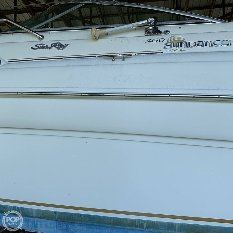 2000 Sea Ray boat for sale, model of the boat is 260 Sundancer & Image # 28 of 40