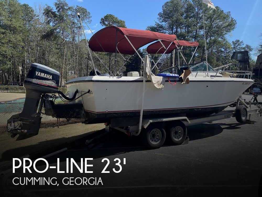 1989 Pro-Line boat for sale, model of the boat is 230 & Image # 1 of 40