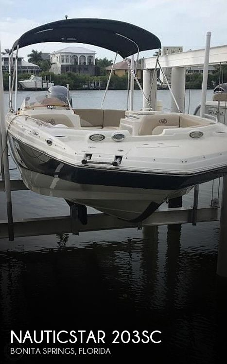 Used NauticStar Deck Boats For Sale by owner | 2017 NauticStar 203sc