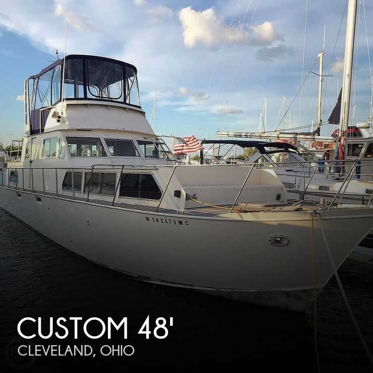 Used Motoryachts For Sale in Ohio by owner | 1969 Custom 48'