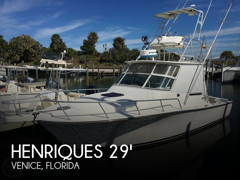 Used Henriques Boats For Sale by owner | 1999 Henriques 28 SportFisher