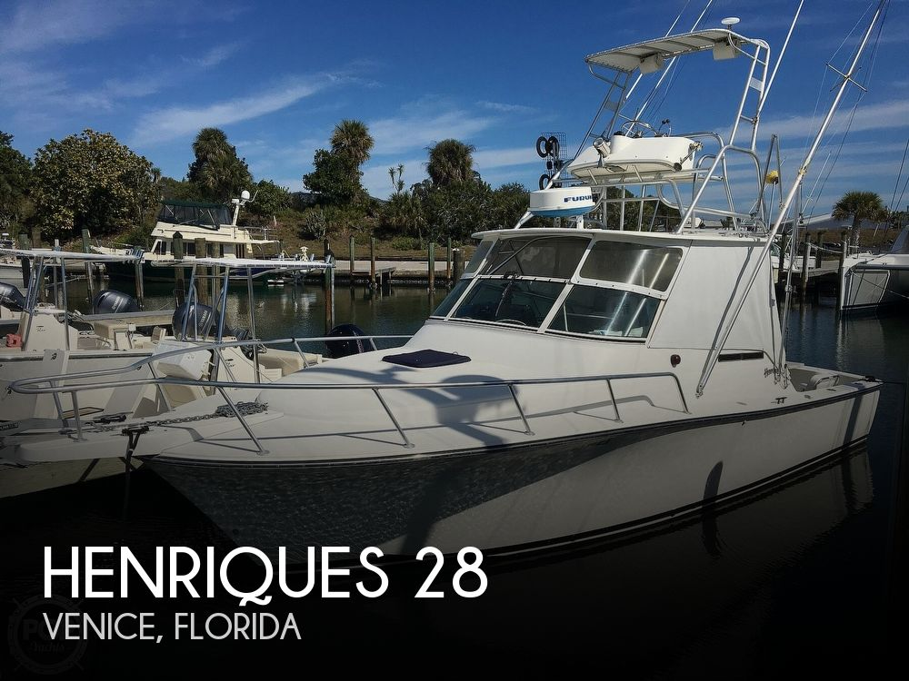 1999 HENRIQUES 28 SPORTFISHER for sale