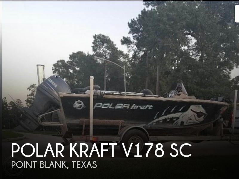 Used Polar Kraft Boats For Sale by owner | 2008 Polar Kraft V178 Sc