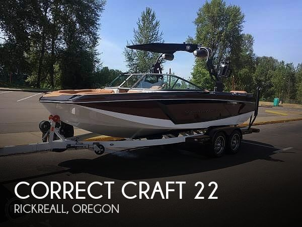 Used Boats For Sale in Salem, Oregon by owner | 2018 Nautique 22