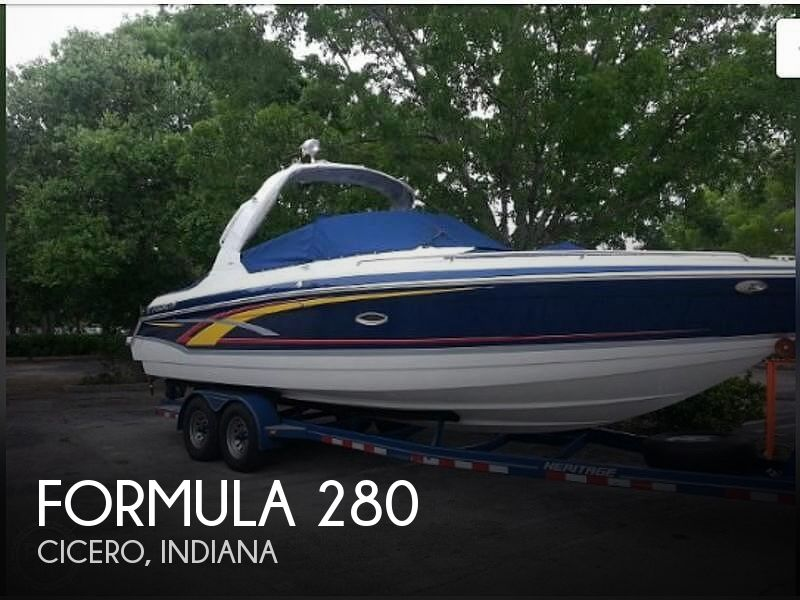 Used Boats For Sale in Indianapolis, Indiana by owner | 2007 Formula 280