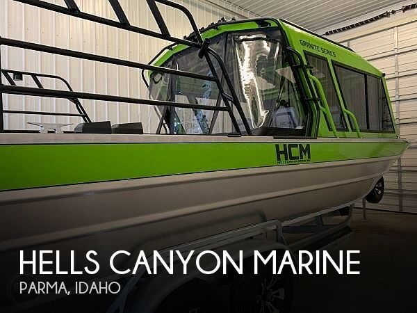 Used Boats For Sale in Boise, Idaho by owner | 2019 Hells Canyon Marine Granite 24