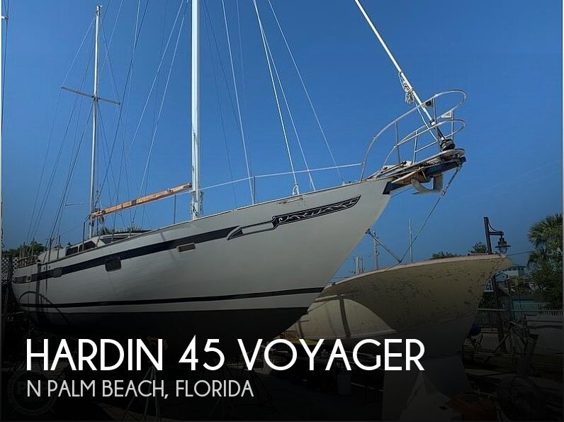 Used HARDIN Boats For Sale by owner | 1980 Hardin 45