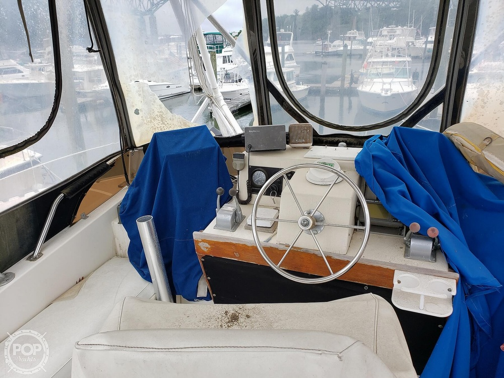 1986 Harris boat for sale, model of the boat is 36 Sportfish & Image # 12 of 40
