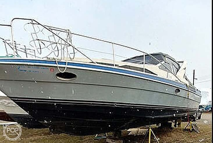 1989 Bayliner boat for sale, model of the boat is 3485 Avanti Sun Bridge & Image # 8 of 11