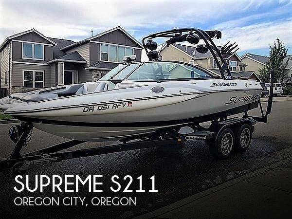 Used Boats For Sale in Salem, Oregon by owner | 2017 Supreme S21