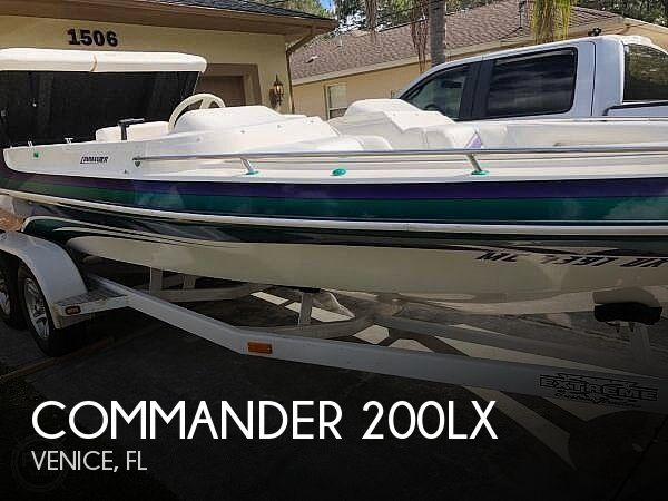 Used Commander Boats For Sale by owner | 2000 Commander 200LX