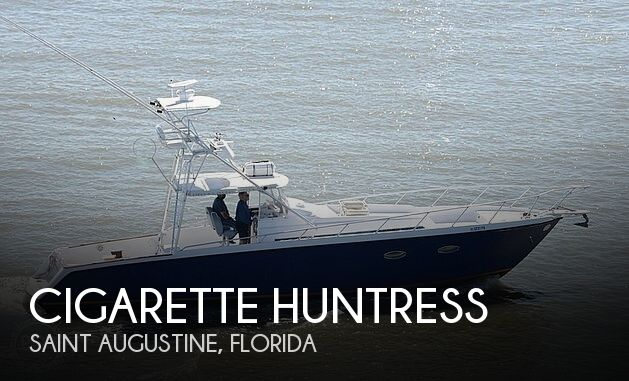 Used Cigarette Boats For Sale by owner | 1984 45 foot Cigarette Huntress