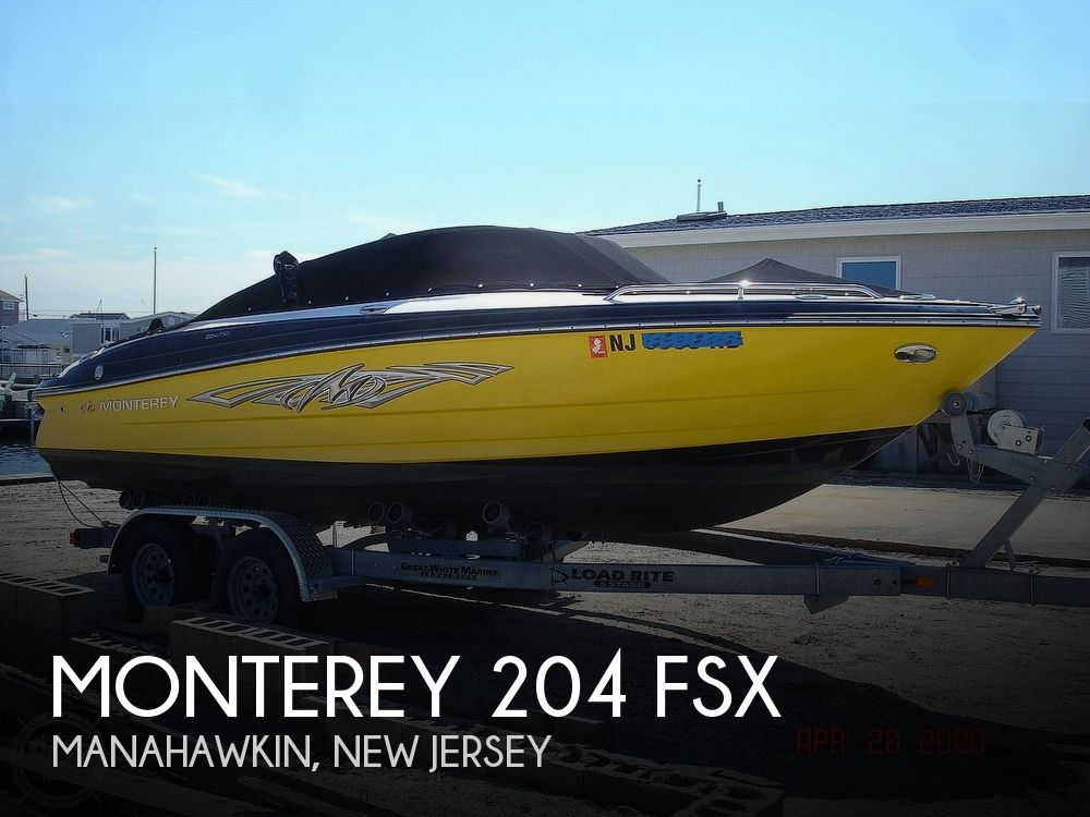 2012 MONTEREY 204 FSX for sale