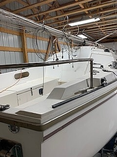 1983 Catalina Yachts boat for sale, model of the boat is C-25 Tall Ship & Image # 5 of 32
