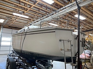 1983 Catalina Yachts boat for sale, model of the boat is C-25 Tall Ship & Image # 3 of 32