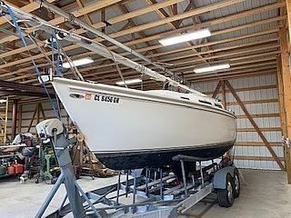 1983 Catalina Yachts boat for sale, model of the boat is C-25 Tall Ship & Image # 2 of 32
