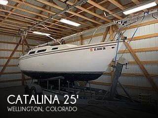Used Boats For Sale in Cheyenne, Wyoming by owner | 1983 Catalina 25 Tall Rig