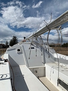 1983 Catalina Yachts boat for sale, model of the boat is C-25 Tall Ship & Image # 29 of 32