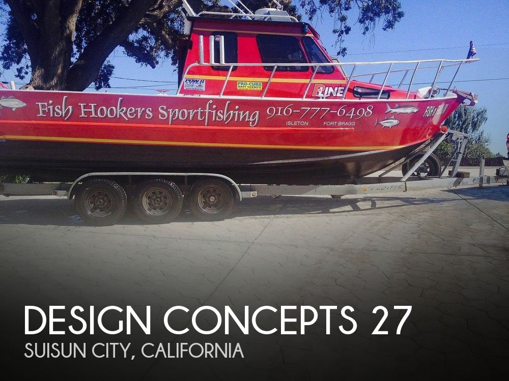 Used Power boats For Sale in San Jose, California by owner | 1993 Design Concepts 27