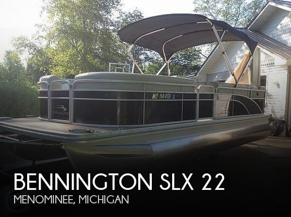 Used Pontoon Boats For Sale in Michigan by owner | 2015 Bennington SLX 22