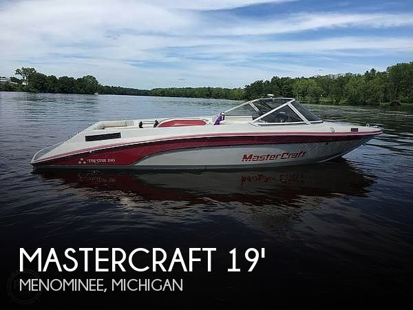 Used Mastercraft Boats For Sale in Michigan by owner   1989 Mastercraft TRI STAR 190