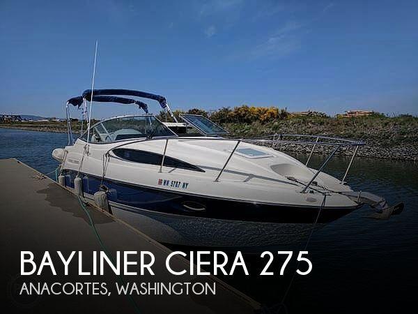 Used Bayliner ciera Boats For Sale by owner | 2007 Bayliner Ciera 275