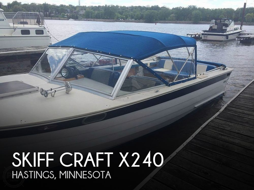 1979 Skiff Craft boat for sale, model of the boat is X240 & Image # 1 of 6
