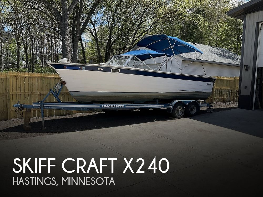 1979 Skiff Craft boat for sale, model of the boat is X240 & Image # 1 of 40
