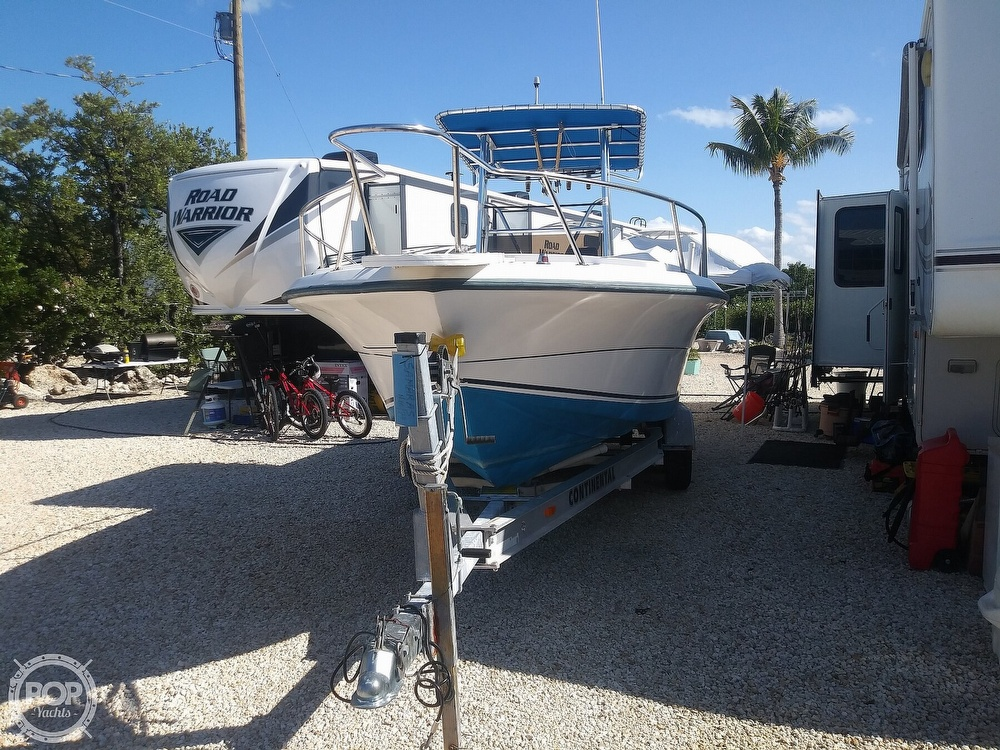 1995 American Angler boat for sale, model of the boat is 220 & Image # 3 of 40