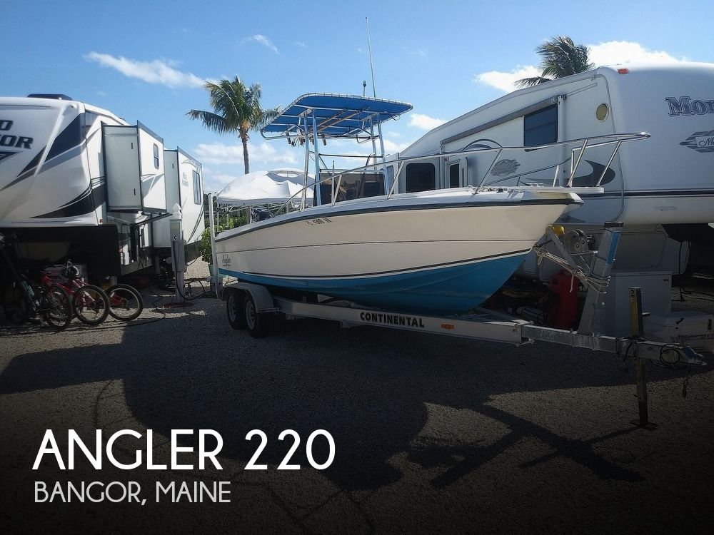 Used Angler Boats For Sale by owner | 1995 Angler 220