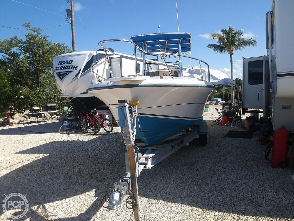 1995 American Angler boat for sale, model of the boat is 220 & Image # 2 of 40