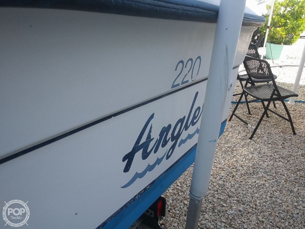 1995 American Angler boat for sale, model of the boat is 220 & Image # 14 of 40