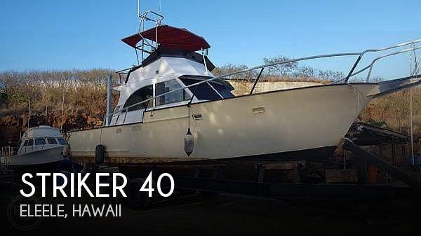 Used Striker Boats For Sale by owner | 1969 Striker 40