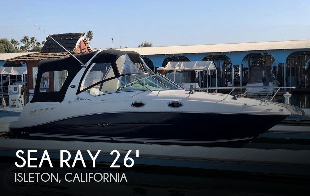 Used Sea Ray Boats For Sale in California by owner | 2005 Sea Ray Sundancer 260