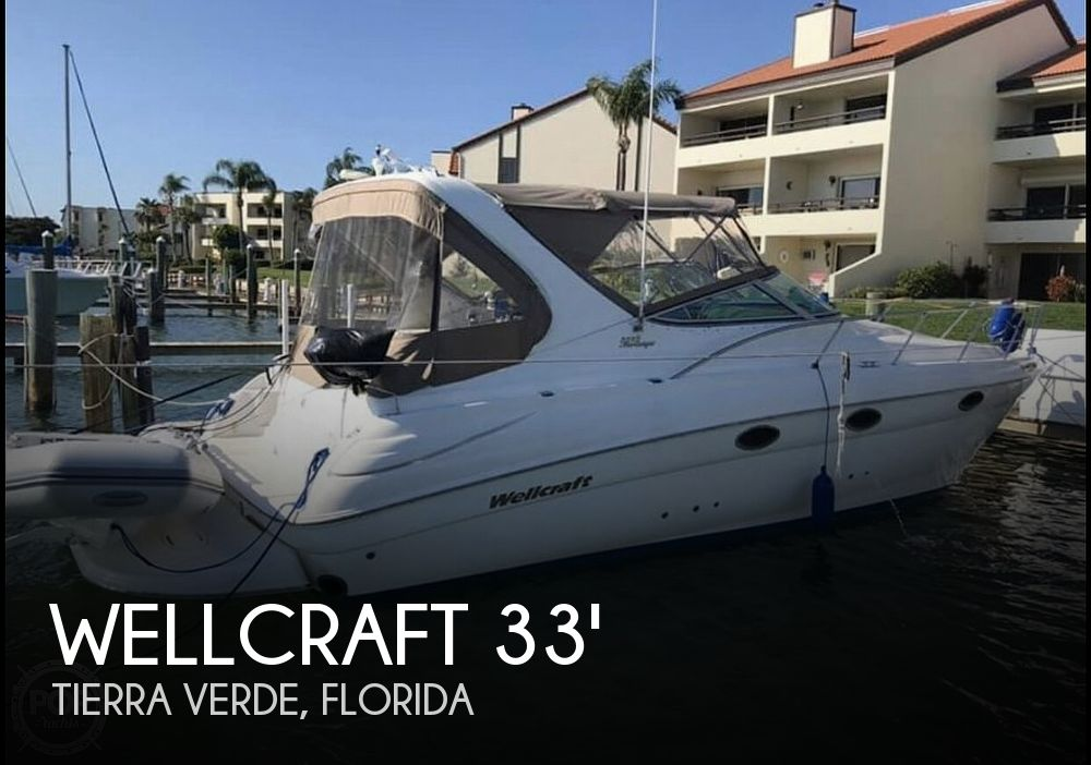 Used Wellcraft 33 Boats For Sale by owner | 2001 Wellcraft Martinique 3300