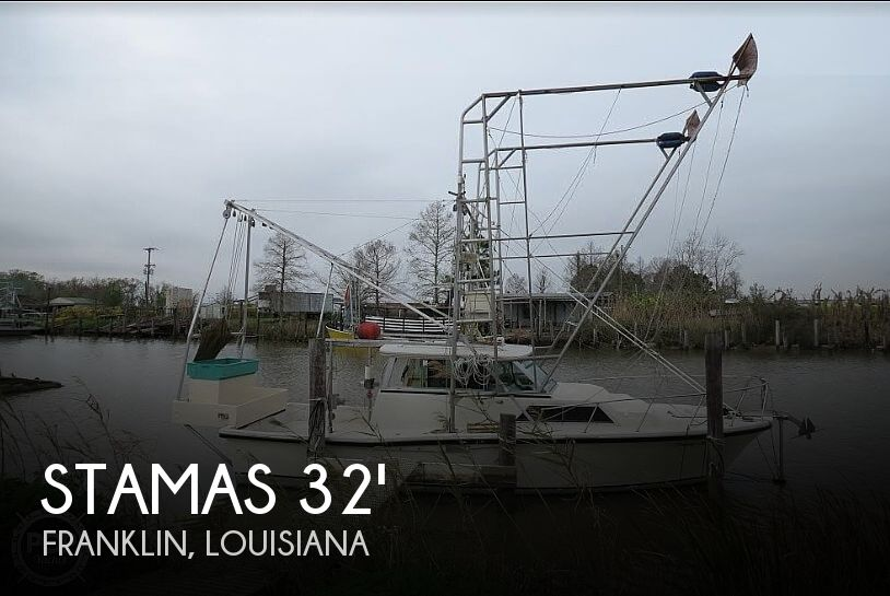 Used Stamas Boats For Sale by owner | 1977 Stamas 33' Shrimp Conversion